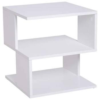 Mesa de centro de diseño en color blanco es
