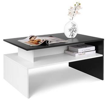 Mesa de Centro en blanco y negro es