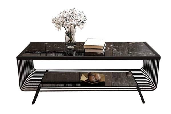 Una mesa de centro estilo Nórdica