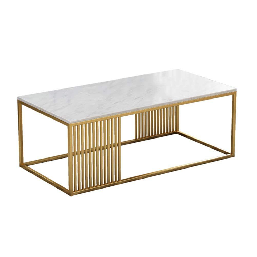 Mesa de centro de mármol rectangular 01 ES