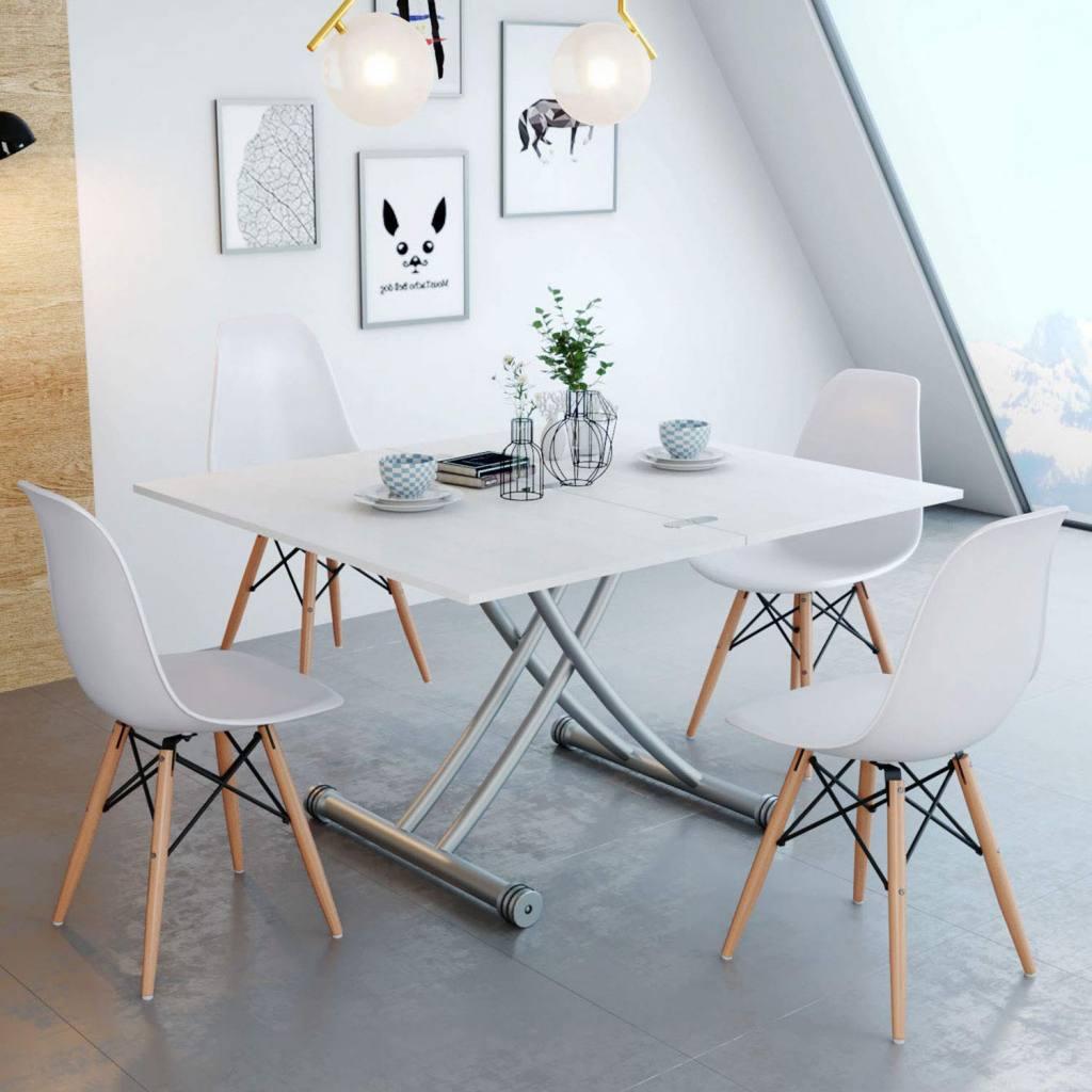 mesa de centro elevable y extensible 3