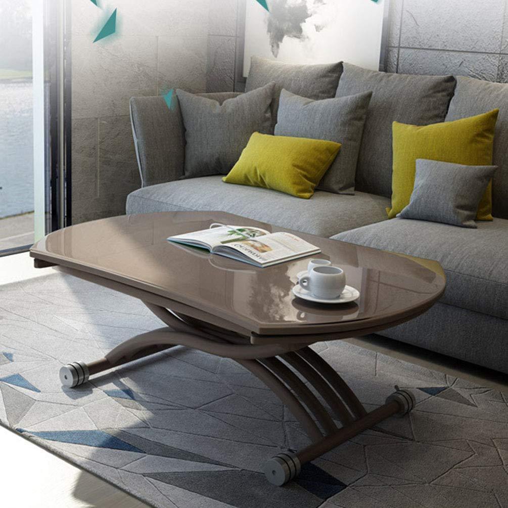 mesa de centro elevable y extensible 4