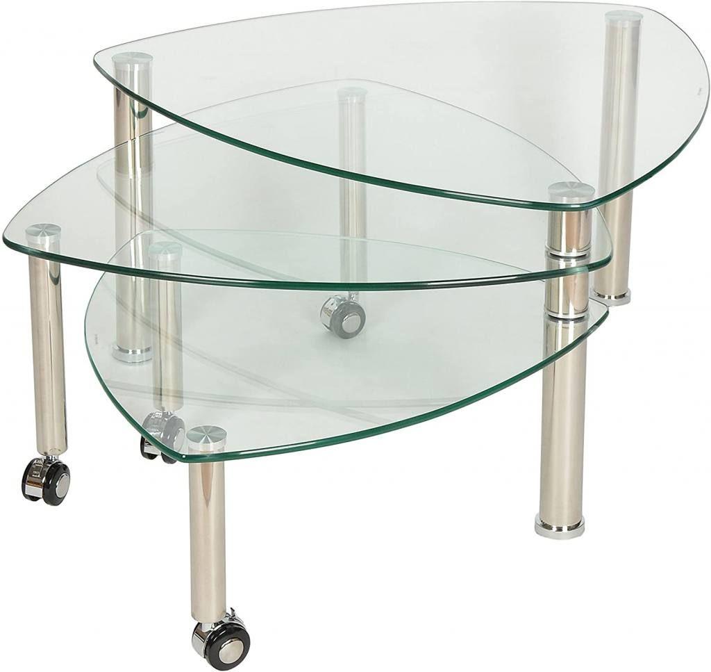 Mesas de centro de cristal baratas