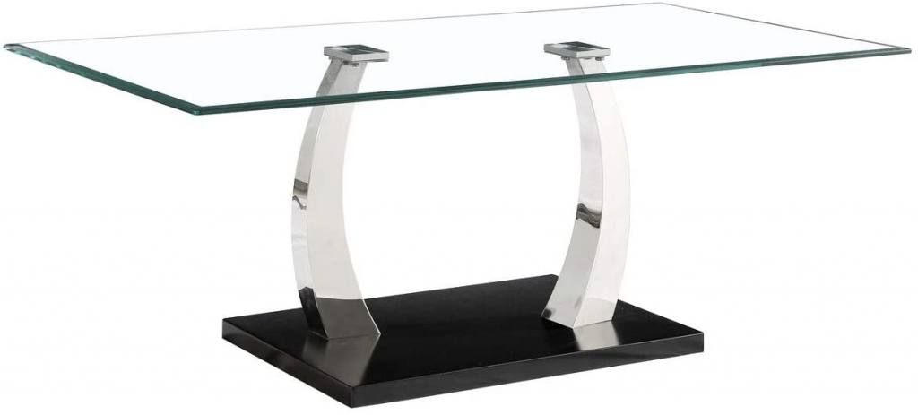 Mesas de centro de cristal bonitas